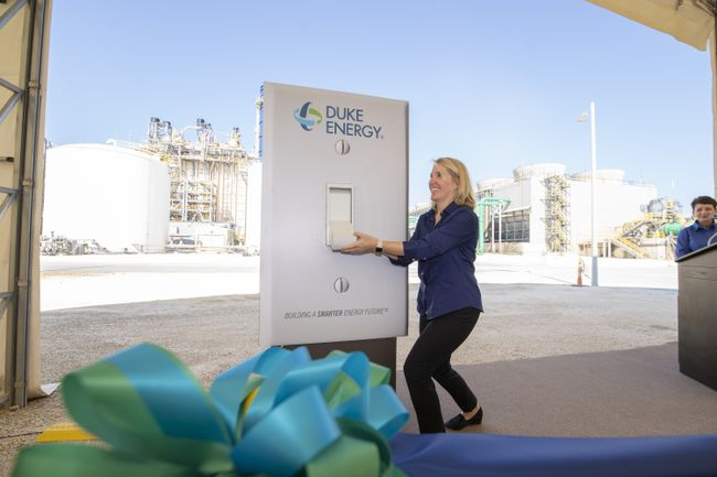 Citrus Combined Cycle Station Grand Opening - Flipping the Switch 1