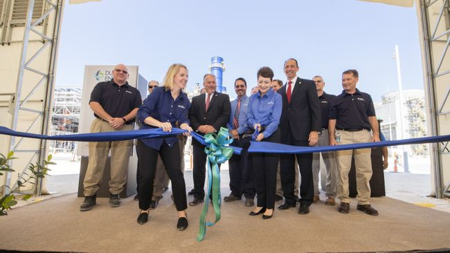 Citrus Combined Cycle Station Grand Opening - Ribbon Cutting