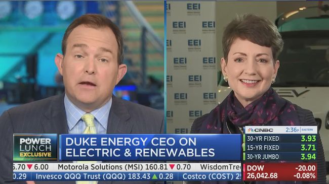 Duke Energy CEO discusses hurricane prep on CNBC Power Lunch