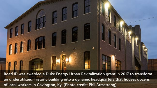 Duke Energy grants $205,000 to seven projects to eliminate blight, drive redevelopment and job growth in Greater Cincinnati's urban cores