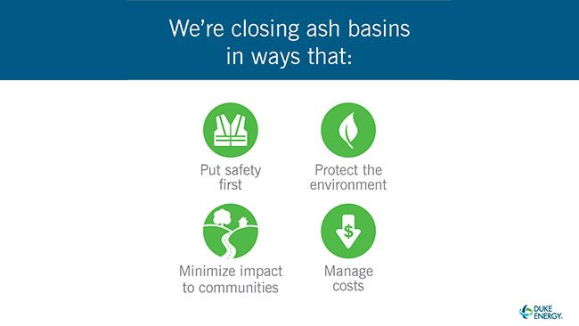 Science and engineering drive common sense ash basin closure plans in North Carolina