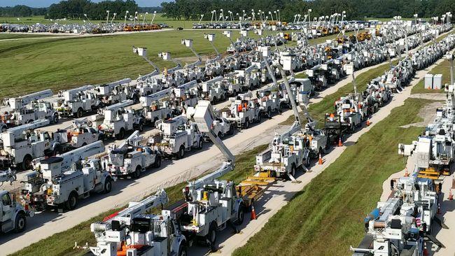 Duke Energy tiene casi 6,500 trabajadores listos para responder al huracán Dorian en Florida