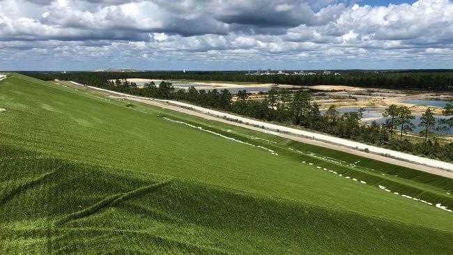 Sutton landfill turf