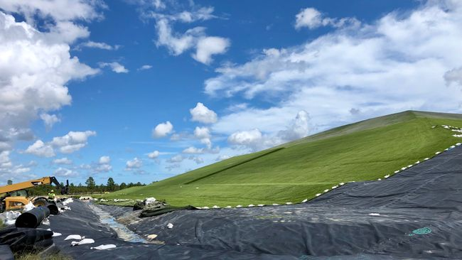 Sutton landfill cover system 2