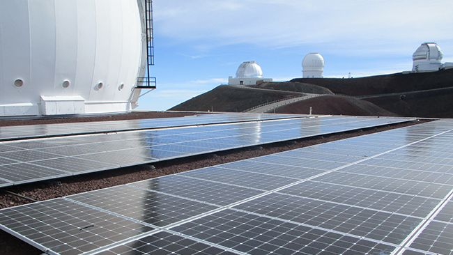 W. M. Keck Observatory and Duke Energy's REC Solar announce completion of major sustainability project in Hawaii