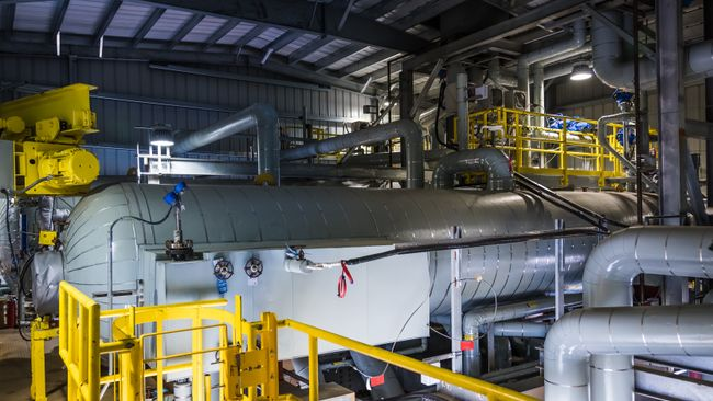 Asheville Combined Cycle Station Components - Heat Recovery Steam Generator Drum