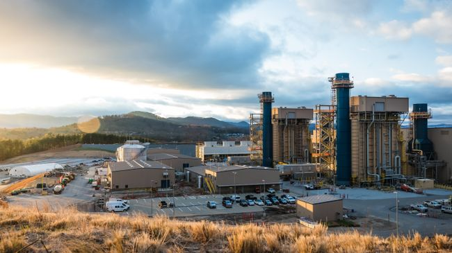 Asheville Combined Cycle Station Exterior 3