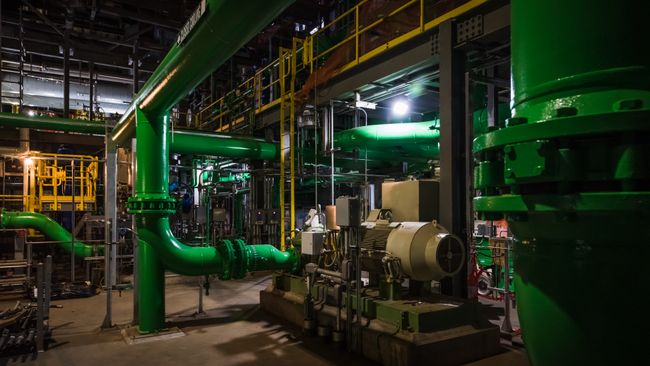 Asheville Combined Cycle Station Components - Cooling Water Piping