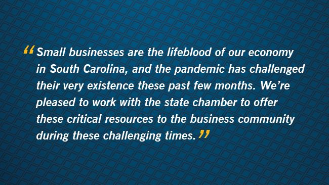 Duke Energy, S.C. Chamber of Commerce partner to support small businesses impacted by COVID-19