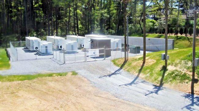 North Carolina's largest battery system now operating at Duke Energy substation