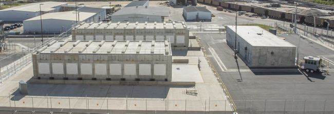 Crystal River Nuclear Plant Dry Cask Storage Facility 1