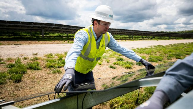 Duke Energy begins construction on 50-megawatt Cleveland County solar project