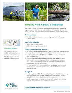 NC Economic Impact Fact Sheet