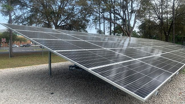 Seminole State College of Florida partners with Duke Energy for new campus solar array