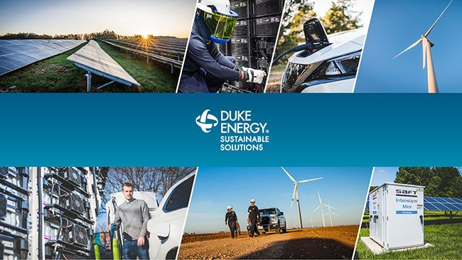 Company launches Duke Energy Sustainable Solutions – offering renewable energy, resiliency solutions for commercial customers nationwide