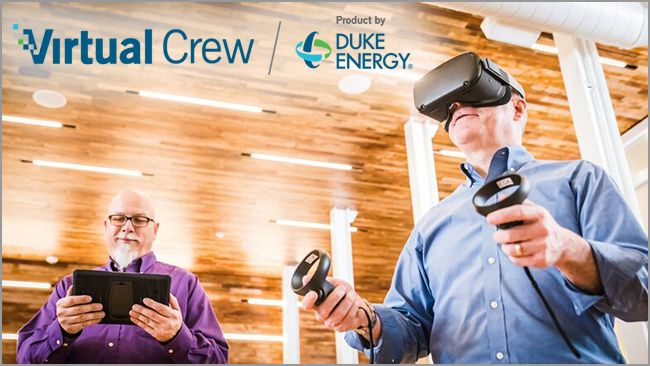 Duke Energy teams with ITS to offer customized virtual reality training programs for energy company workers nationwide