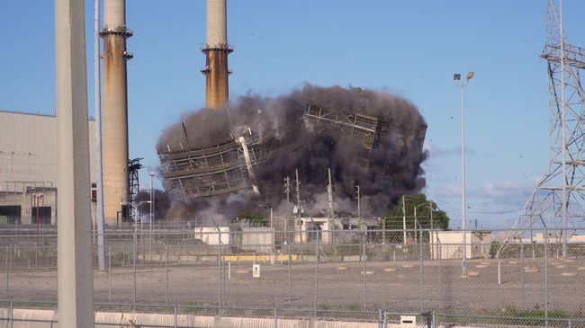 Crystal River Coal Plant Implosion 2