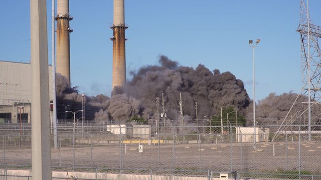 Crystal River Coal Plant Implosion 3