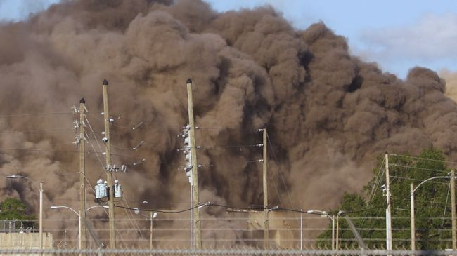 Crystal River Coal Plant Implosion