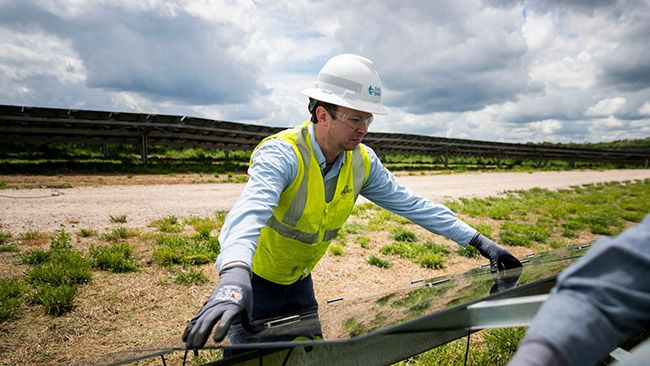Duke Energy begins construction on largest solar plant in Surry County, N.C.