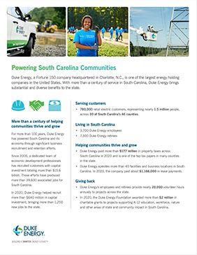 SC Economic Impact Fact Sheet