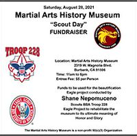 Scout Day at the Martial Arts History Museum