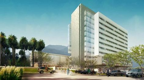 Rendering of San Bernardino Courthouse