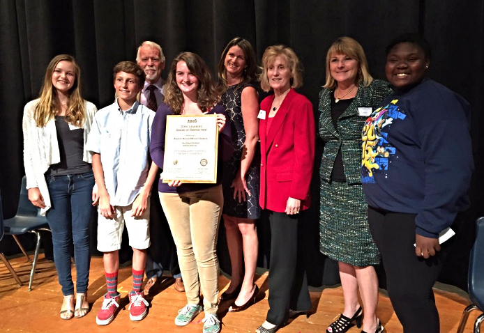 2016 Civic Learning Award of Distinction: Pacific Beach Middle School