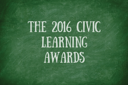 2016 Civic Learning Award