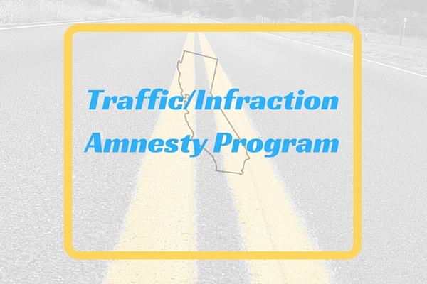 Traffic/Infraction Amnesty Program