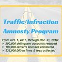 Traffic Amnesty Program Ends April 3