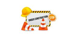 stop construction sign