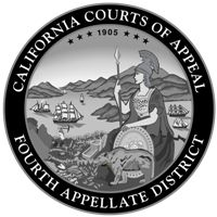 Court of Appeal Fourth District Seal