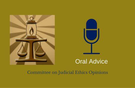 CJEO Oral Advice