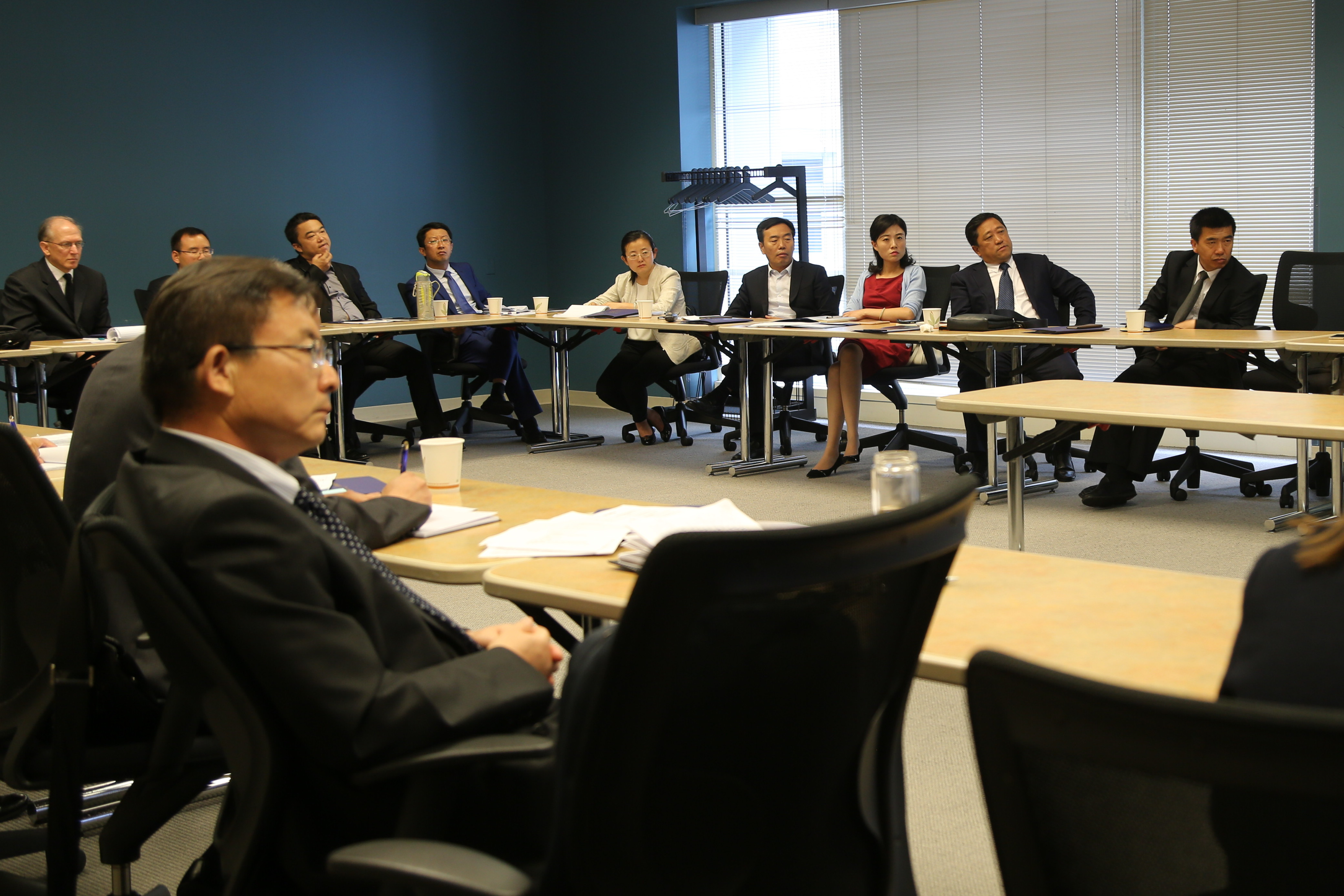 Chinese Representatives at Judicial Council