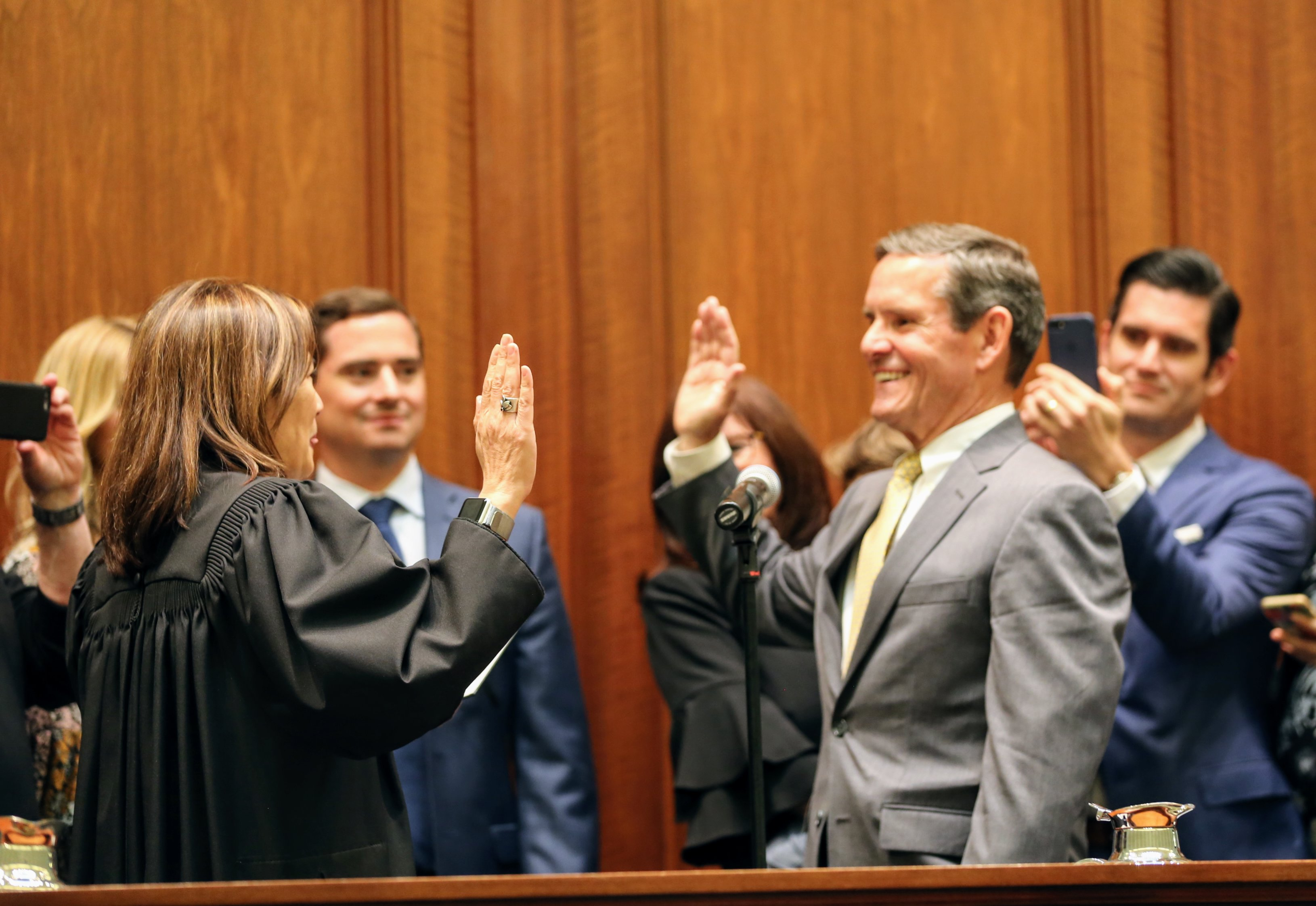 Goethals swearing in