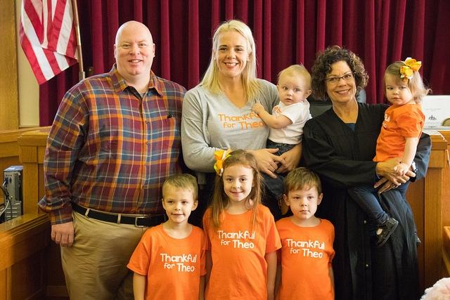 Schmidt Family Adoption Day 2018