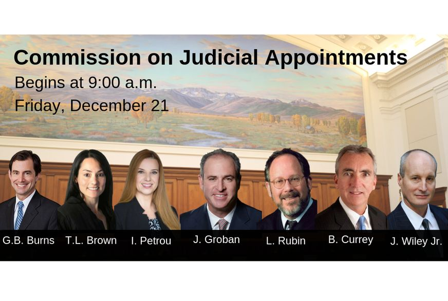 Commission on Judicial Appointments