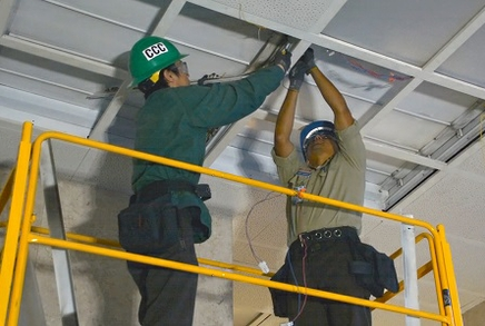 California Conservation Corps - changing lighting fixtures in courthouses - 2_Newsroom_carousel