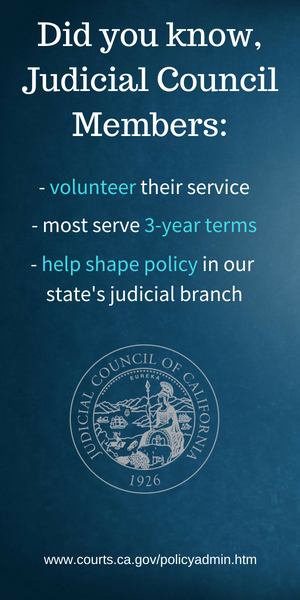 Did you know Judicial Council Members Ad