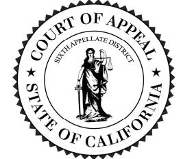 Sixth District Court of Appeal Seal