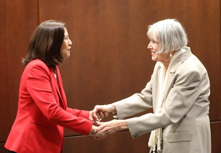 Judicial Council Meeting - Distinguished Service Award - 11-14-19 - Judge Carol Brosnahan