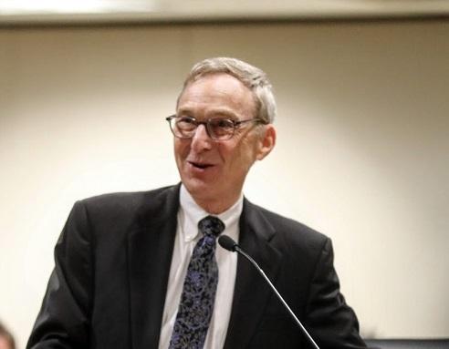 Judicial Council meeting - Distinguished Service Award - 11-14-19 - Justice Dennis Perluss