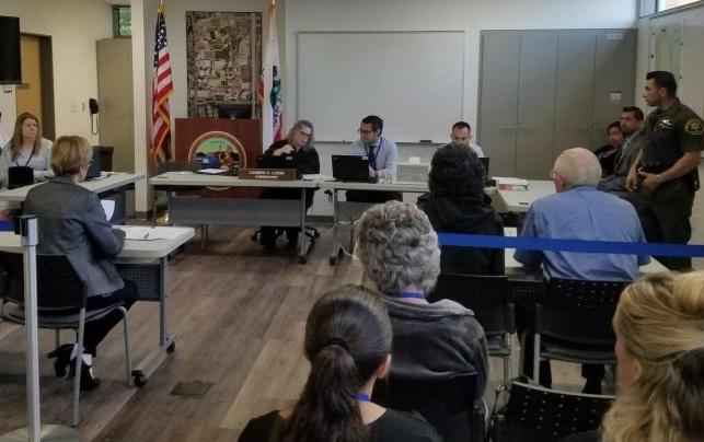 Orange County Court emergency exercise - Oct 2019