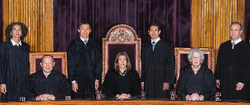 California Supreme Court Bench - 2019