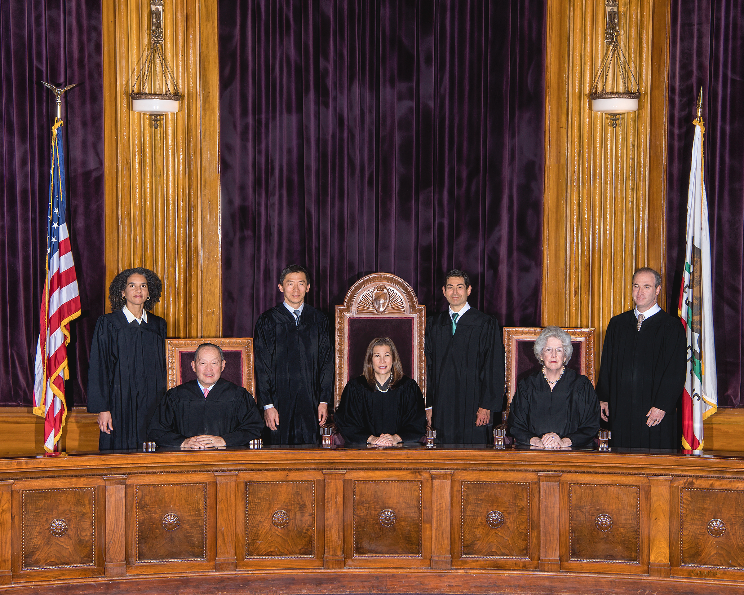 California Supreme Court Bench (2019)