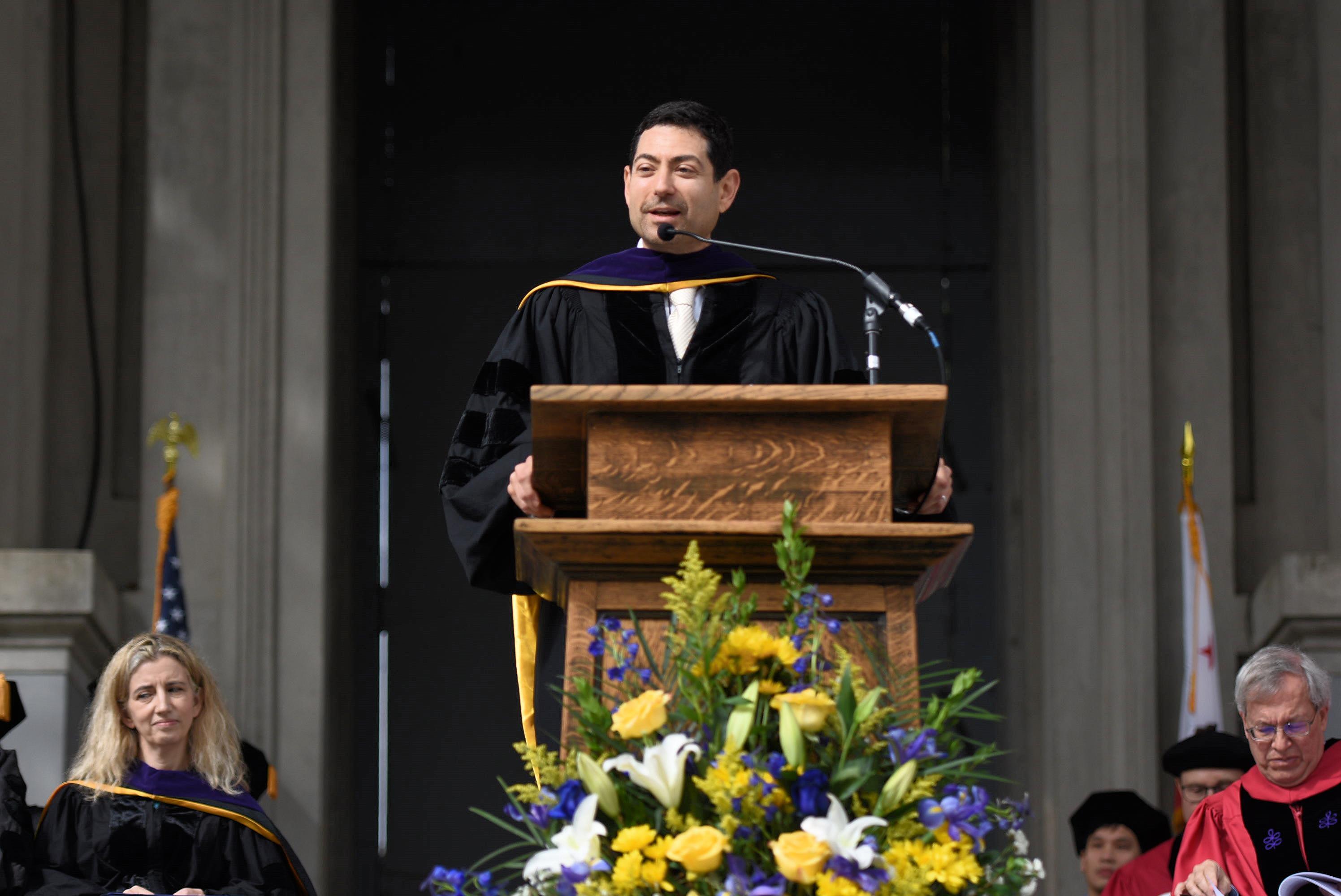 Cuellar UC Berkeley Commencement 1