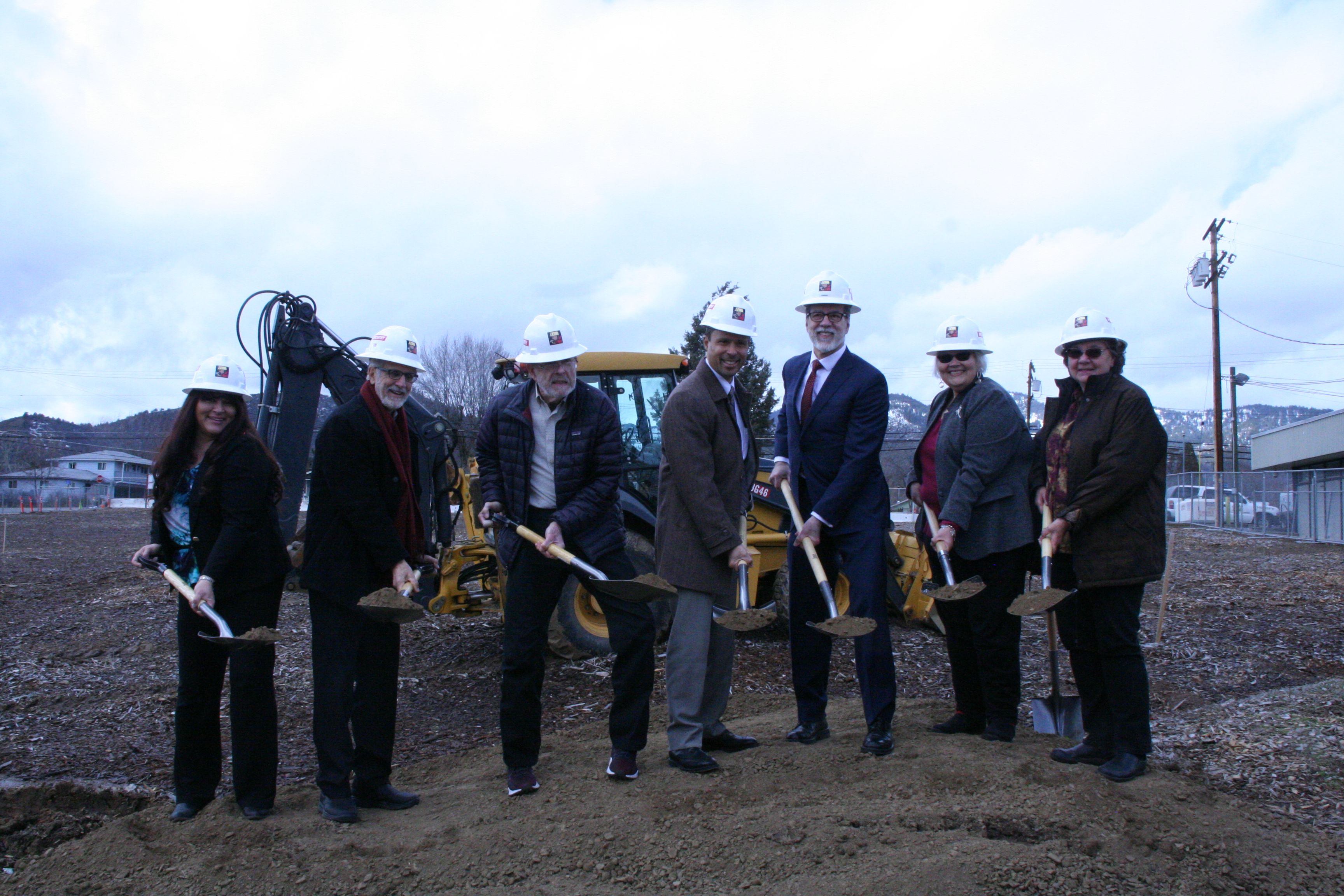 Siskiyou County: Groundbreaking - March 1, 2019