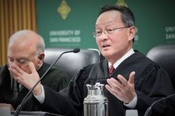 Photos of Justice Chin