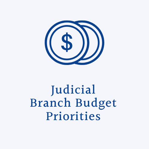 dollar sign with text that reads budget priorities